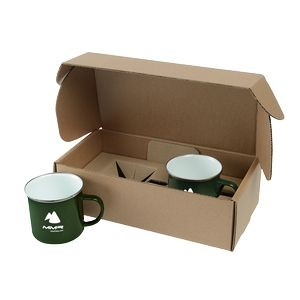 16 Oz. Speckle-It™ Camping Mugs Gift Box Set