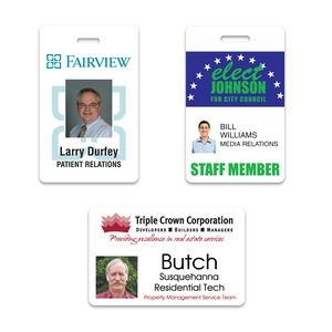"Photo ID Badge (2.125""x3.375"")"
