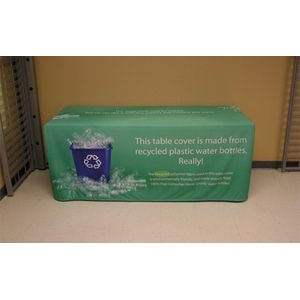 6' Repreve® Table Cover with All Over Dye Sub Graphics