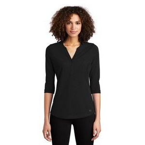 OGIO® Ladies' Jewel Henley Shirt