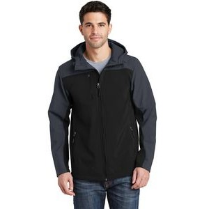 Port Authority® Men's Hooded Core Soft Shell Jacket