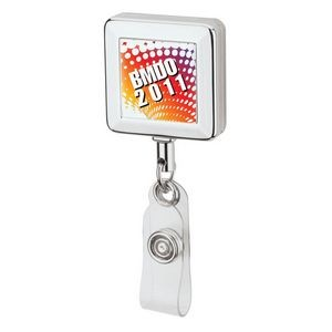 Dino Square Badge Holder