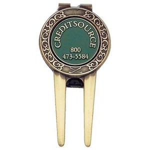 Divot Tool w/ Magnetic Ball Marker & Belt Clip