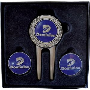 Celtic Divot Tool Gift Set W/ 2 Extra Ball Markers