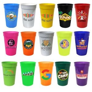 17 Oz. Smooth Stadium Cup (Full Color Digital)