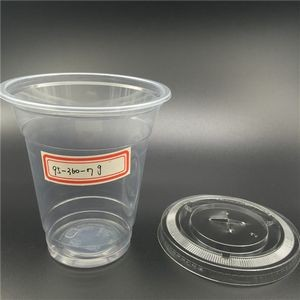12 Oz Disposable Plastic Water Cup With Rolled Edge And 1-4 Colors Imprint Without Lid