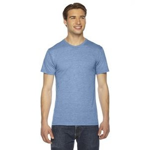 American Apparel Unisex Triblend Short-Sleeve Track T-Shirt