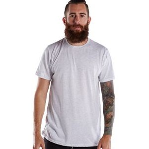 US BLANKS Men's Short-Sleeve Made in USA Triblend T-Shirt