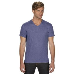 Anvil / Cotton Deluxe Adult Triblend V-Neck T-Shirt