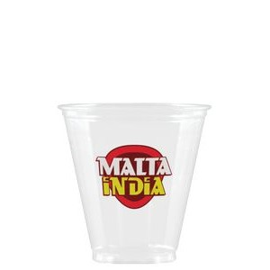5 oz Soft Sided Clear Plastic Cup - Hi-Speed