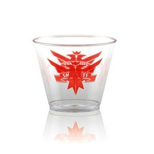 9 oz Clear Hard Plastic Rocks Cup - Hi-Speed