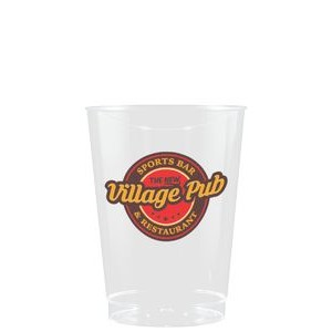 10 oz Clear Hard Plastic Cup - Hi-Speed