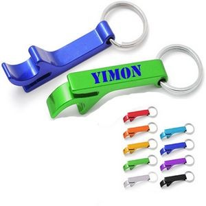 "2 3/8"" Bottle Opener W/ Key Chain"