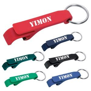 "Bottle Opener W/ Key Chain - 2 5/8""x1/2"""