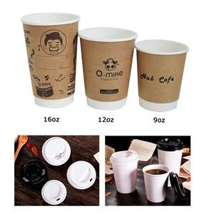 9 Oz. Double Wall Coffee Cup