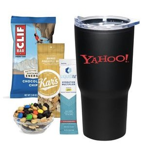 Thanks You Pink Candy & Snack Tumbler Cup Wrapped