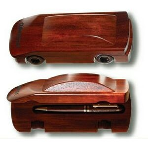 Sports Series Ballpoint Pen in Rosewood Car Case