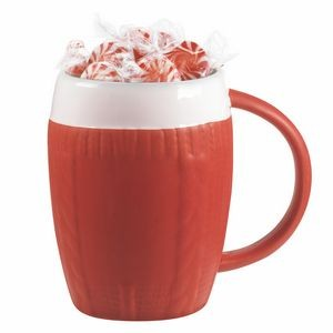 Sweater Ceramic Mug w/ Candy