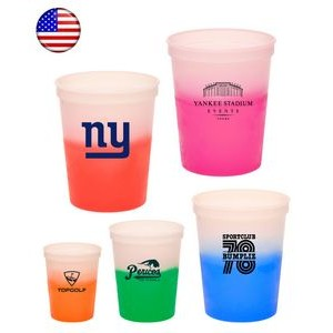 16 Oz. Mood Stadium Cups Color Changing