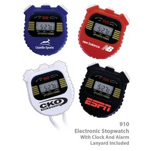 Digital Stop Watch with Chronometer & Alarm