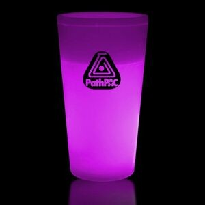 12 Oz. Pink Glow Cup