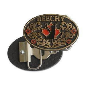 "Classic Belt Buckle (2 1/2"" x 3 1/2"") with Detachable Bottle Opener (2.5 sq."" )"