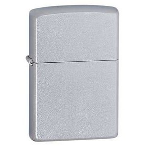 Zippo® Satin Chrome Lighter