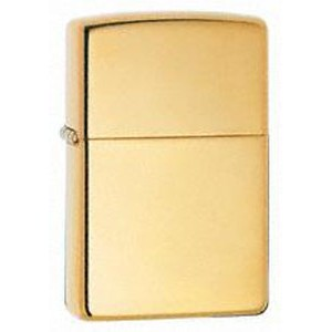 Zippo® Armor High Polish Brass Lighter