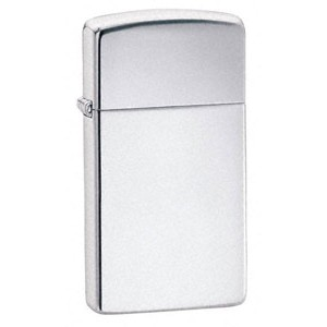 Zippo® Slimline Hi Polished Chrome Lighter