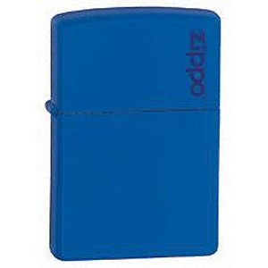 Zippo® Royal Blue Matte Lighter