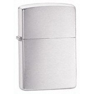 Zippo® Armor Brushed Chrome Lighter