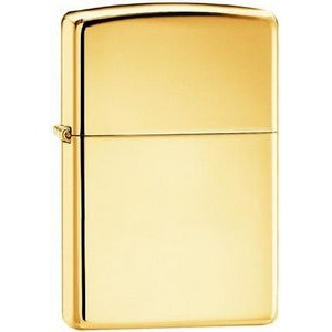Zippo® High Polish Solid Brass Lighter