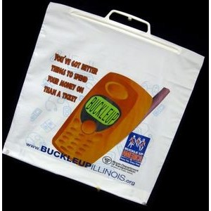 "1.75 Mil Rigid Handle Bag (16""x17""x5"")"