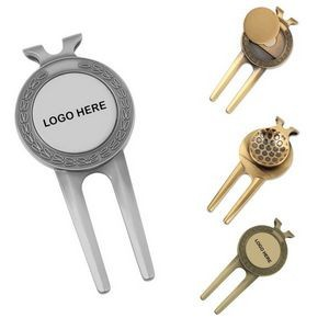 Deluxe Divot Tool with Ball Marker