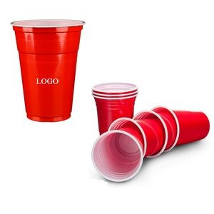 16 Oz. Disposable Party Plastic Cup