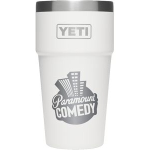 Branded YETI 16oz Stackable Pint