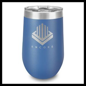 16 Oz. Royal Stainless Steel Stemless Wine Cup