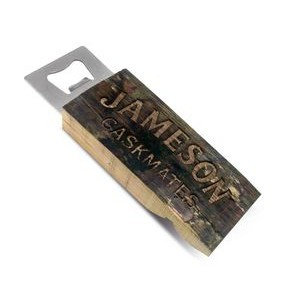 Hand Held Reclaimed Wood Bottle Opener