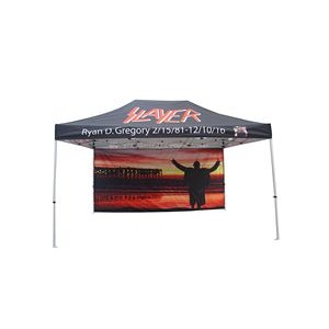 10x15 Custom Printed Pop Up Canopy Tent