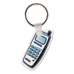 Cell Phone Key Tag W/ Key Ring