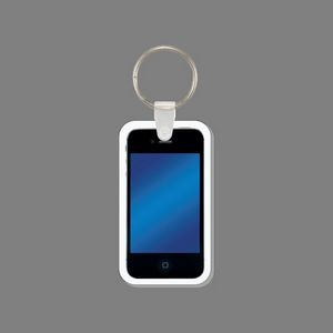 Key Ring & Full Color Cell Phone Key Tag (iPhone/Smartphone)