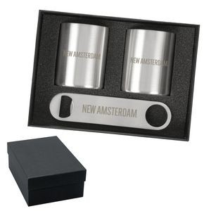Tibeti Double Whiskey Cup & Speed Opener Set