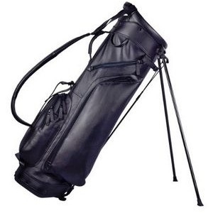 Leather Stand Golf Bag