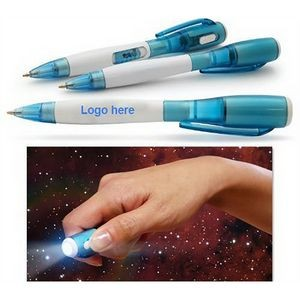 Flashlight Pen LED Light Ballpoint Pen