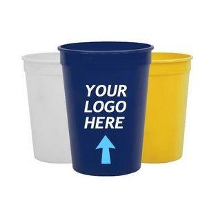 16 Oz Reusable Plastic Stadium Cup