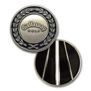 "Jumbo Marker 1.25"" with 3/4"" Nickel Silver Ballmarker"