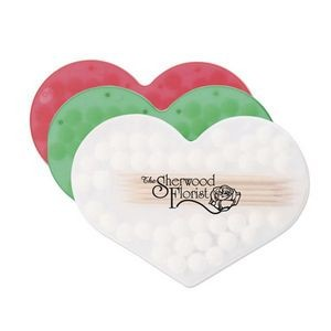 Bocca Fresca Mints & Toothpicks w/ Heart Shaped Case