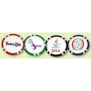 Full Color Poker Chips (Uncoated)