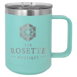 15 oz. Teal Polar Camel Vacuum Insulated Mug with Slider Lid