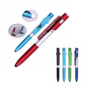 Multi-functional Stylus Pen With Light